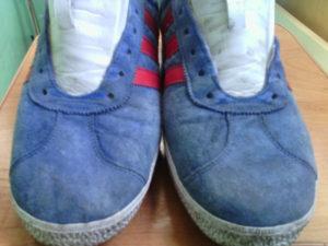 Перекраска кроссовок краской Saphir Teinture Francaise