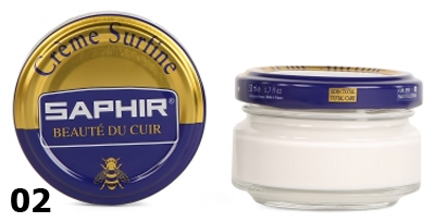 Крем для обуви Saphir surfine белый