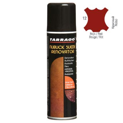 Краска для замши и нубука Tarrago Renovator красная
