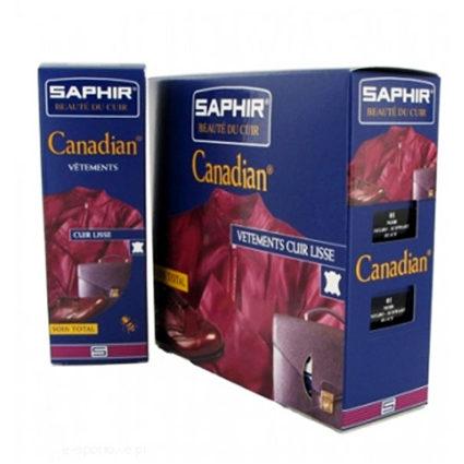 Крем-краска для кожи Saphir Canadian. Крем-краска в тюбике