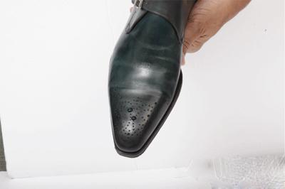 Паста для обуви Saphir Medaille D'or Pate De Luxe (50 ml). Паста для наведения глянца на обуви.