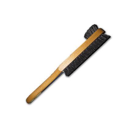 Деревянная щетка для чистки обуви