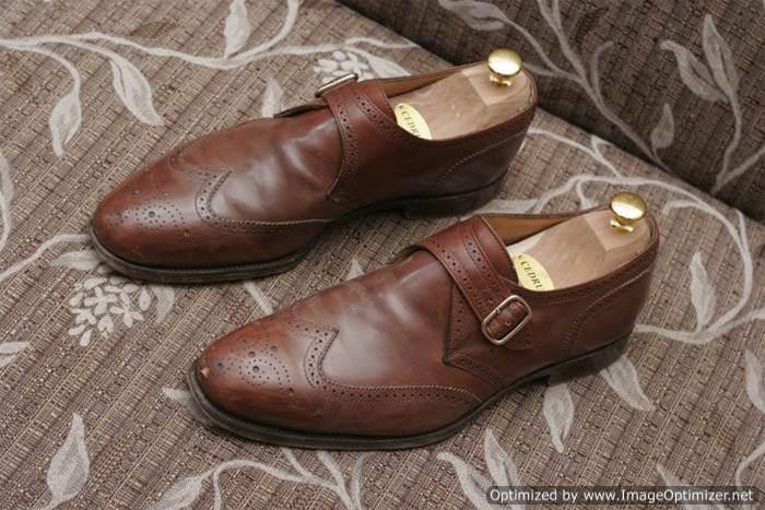 Подготовка обуви к реставрации