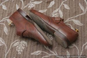 Подготовка обуви к реставрации.