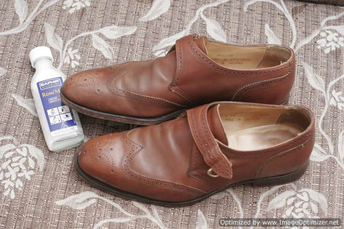 Очистка обуви Saphir RenoMat