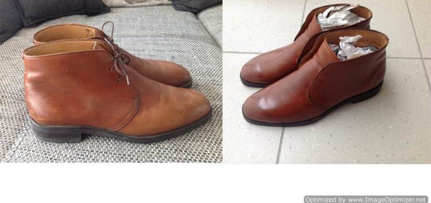 Реставрация обуви своими руками