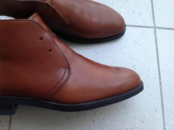 Обувь после очистки