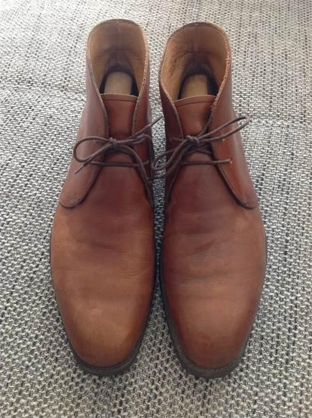 Обувь перед реставрацией
