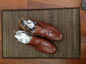 Полированная обувь