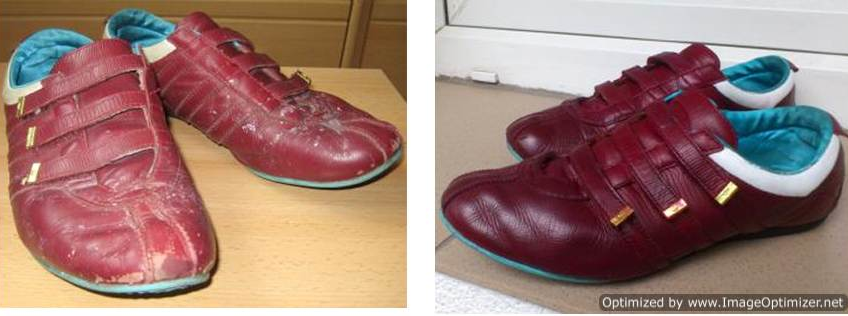 Средства для реставрации кожаной обуви