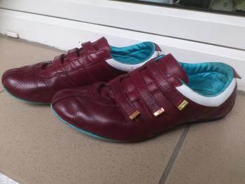 Кроссовки после восстановления цвета