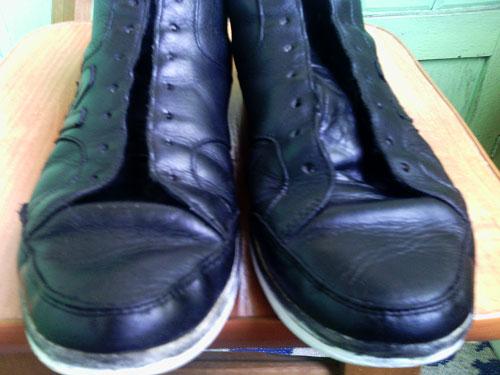 Реставрация кожаной обуви