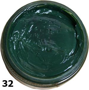 Крем для обуви Coccine темно-зеленый
