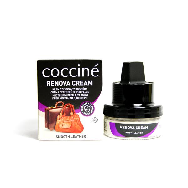 Чистящий крем бальзам для кожи Coccine renova