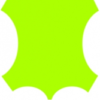 краска для кожи кислотно-желтая