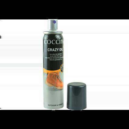 Пропитка Coccine crazy oil для жированой кожи и нубука