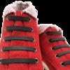 Шнурки силиконовые черные