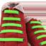 Шнурки силиконовые салатовые