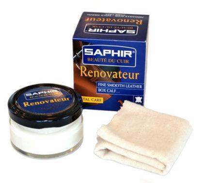 Бальзам для кожаных изделий Saphir renovateur