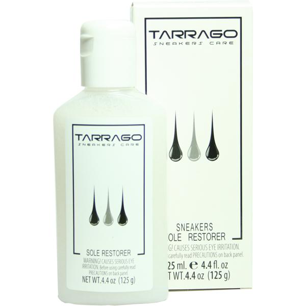 Очиститель Tarrago для восстановления белого цвета резиновой подошвы.