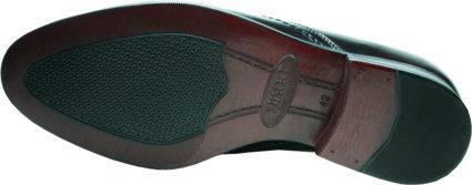 Туфли мужские кожаные на резинке Икос