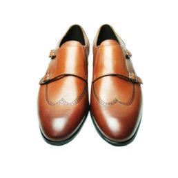 Кожаные мужские туфли Икос монки
