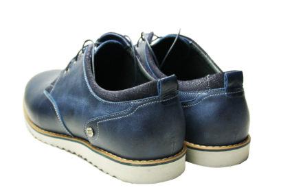 Туфли мужские кожаные Икос синие