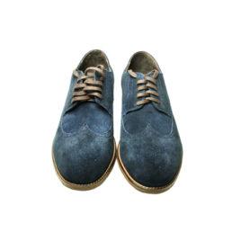 Замшевые мужские туфли DAVIS на шнуровке